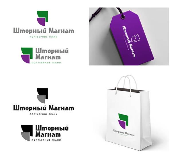 Логотип и фирменный стиль для магазина тканей. фото f_4945cdea89d5493b.jpg