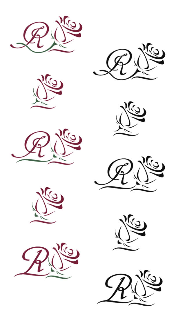 Логотип + Фирменный знак для элитного поселка Casa De La Rosa фото f_5195cd86292bb747.jpg