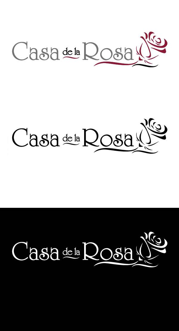 Логотип + Фирменный знак для элитного поселка Casa De La Rosa фото f_6625cd75c47c91ec.jpg