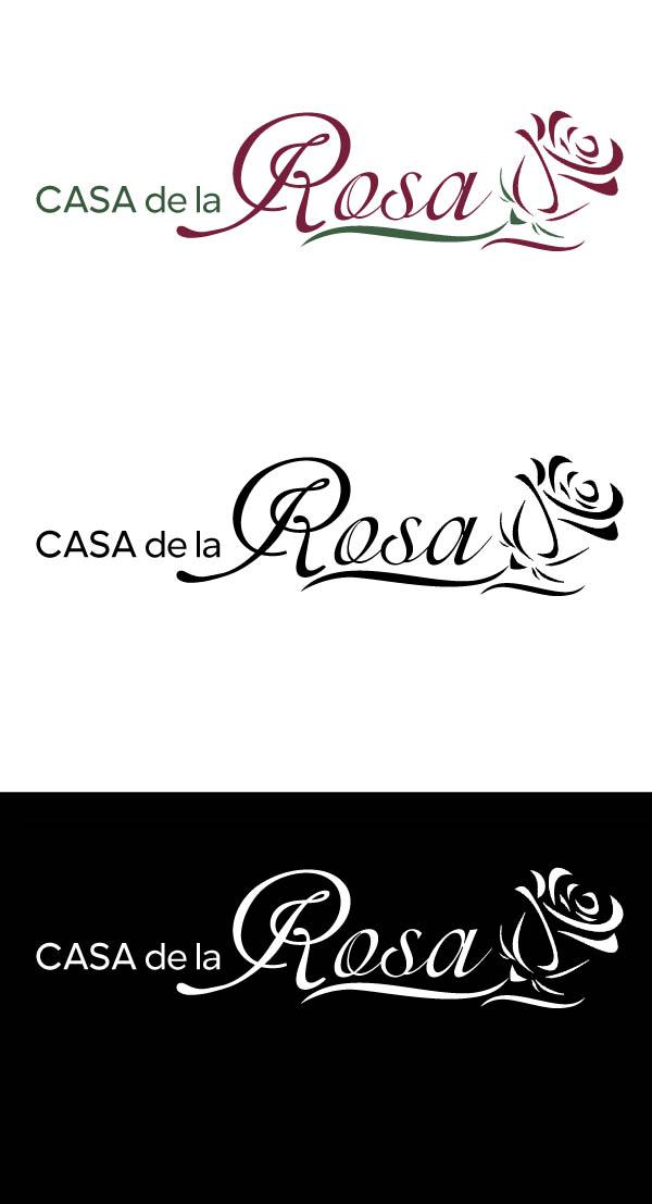 Логотип + Фирменный знак для элитного поселка Casa De La Rosa фото f_7105cd75c541fb95.jpg