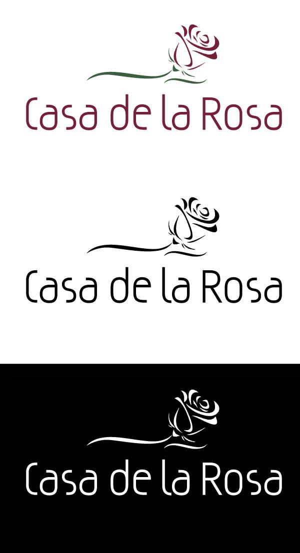 Логотип + Фирменный знак для элитного поселка Casa De La Rosa фото f_7545cd862878e2ad.jpg
