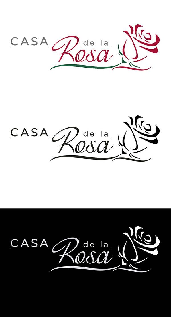 Логотип + Фирменный знак для элитного поселка Casa De La Rosa фото f_9495cd5fdb1c5899.jpg