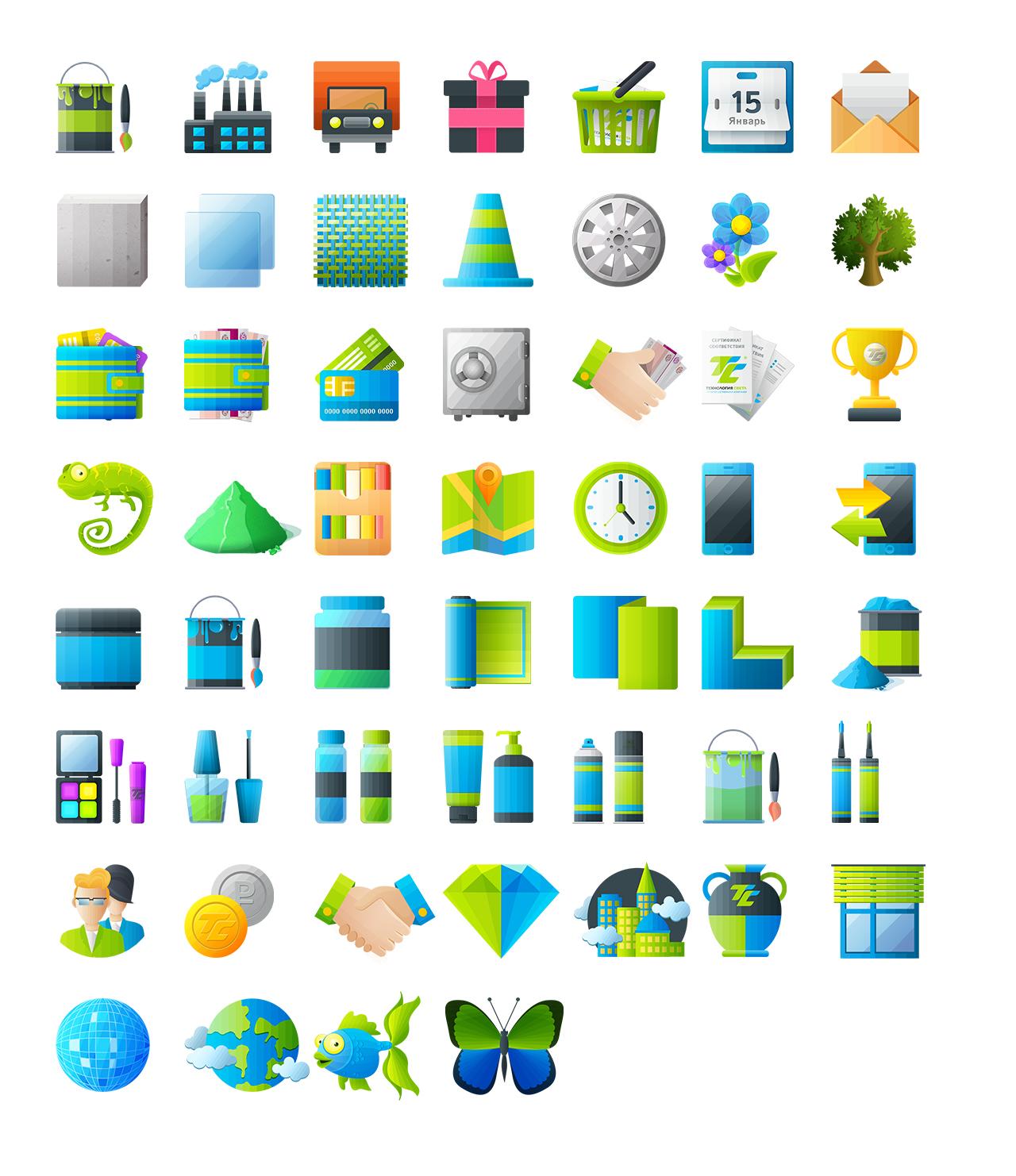 Иконки «Технология света»