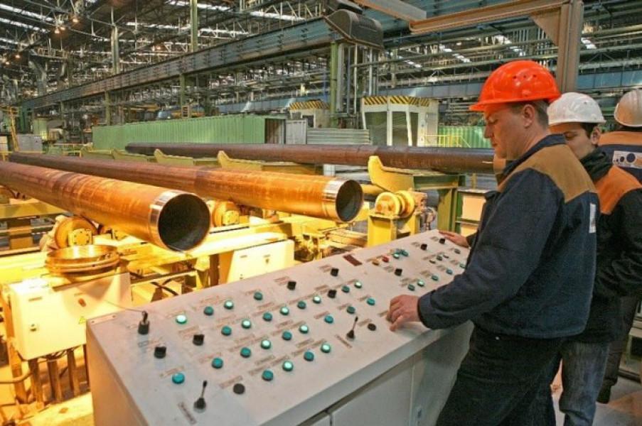 На Волжском трубном заводе стартовал инвестпроект «Нержавеющая река»