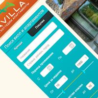 Дизайн и программирование формы поиска для vavilla.ru