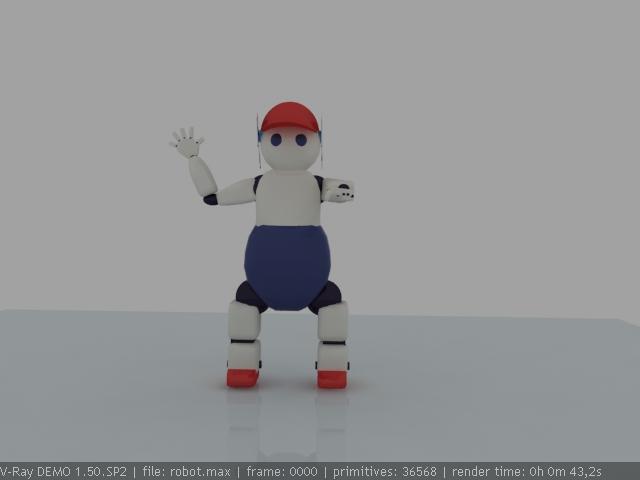 """Модель Робота - Ребёнка """"Роботёнок"""" фото f_4b48d97058586.jpg"""