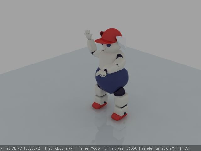 """Модель Робота - Ребёнка """"Роботёнок"""" фото f_4b48d97843dc6.jpg"""