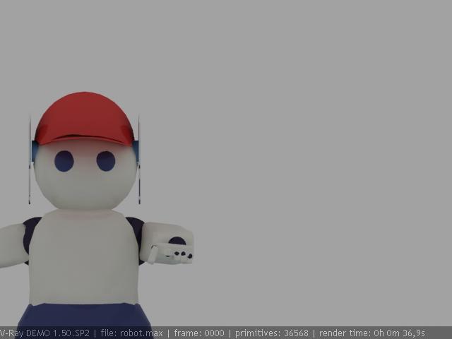 "Модель Робота - Ребёнка ""Роботёнок"" фото f_4b48d9e0e734f.jpg"