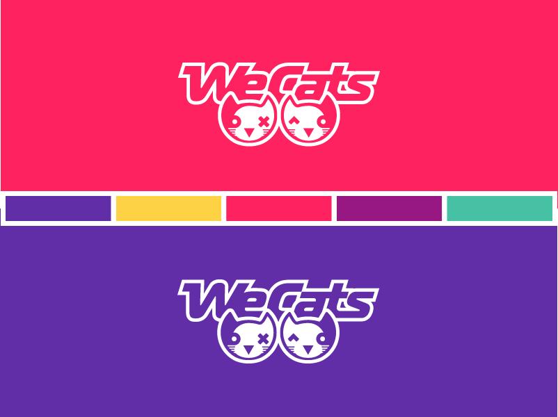 Создание логотипа WeCats фото f_5555f1b0cc1e47b3.png