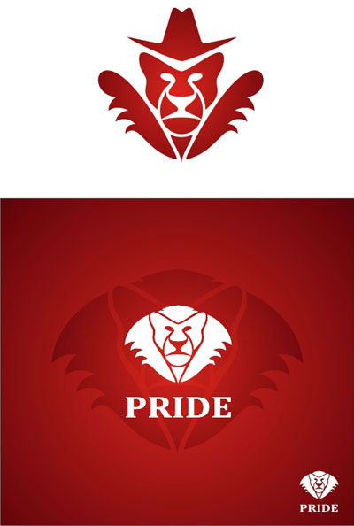 PRIDE логотип для ночного клуба