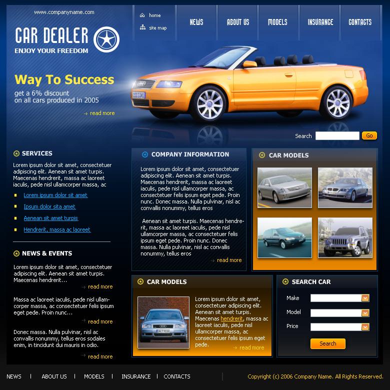 CarDealer (Макет для Pikes Peak Studio)