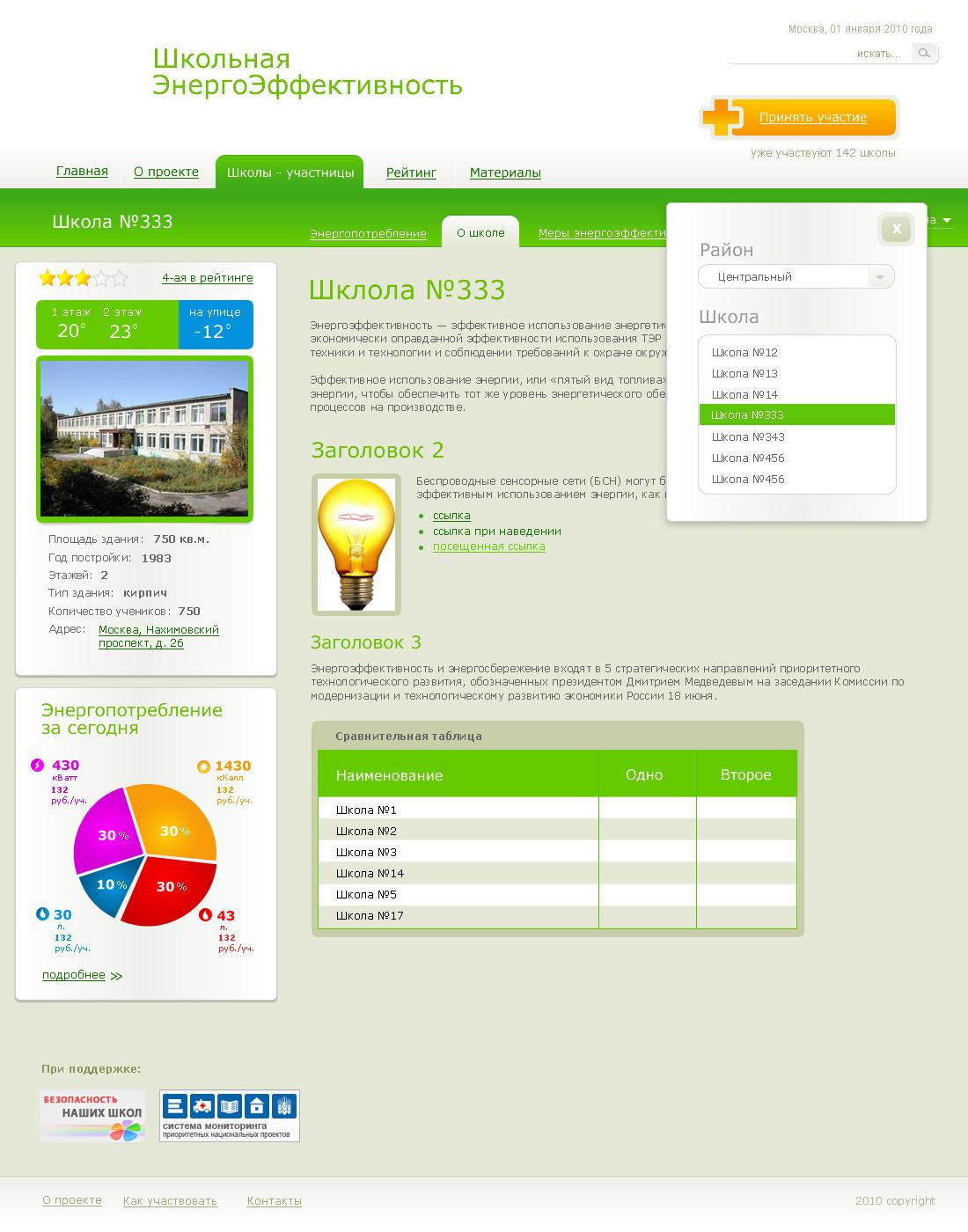 «Школьная ЭнергоЭффективность»