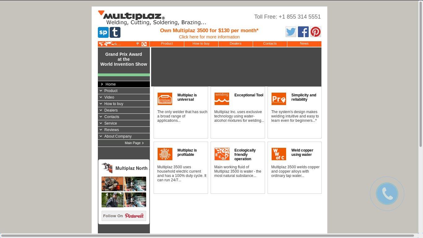 Сайт производителя плазменных сварочных аппаратов