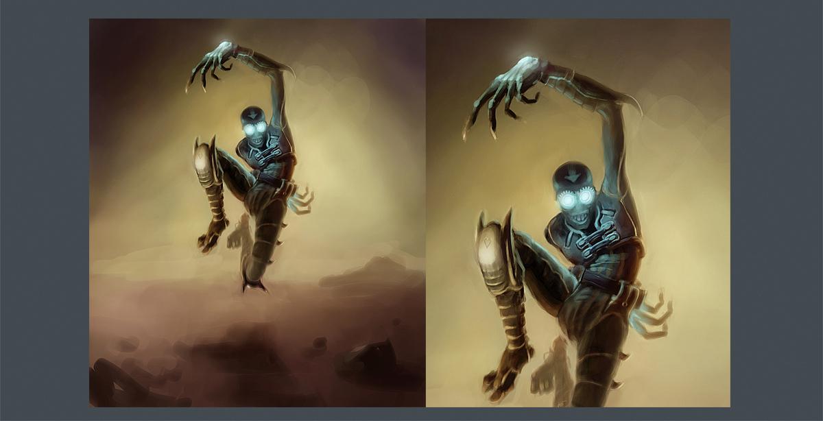 концепт персонажа: асассин