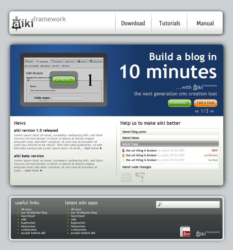 Аiki framework