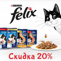 Felix - баннер и акционная страничка