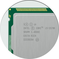 Отрисовка процессора