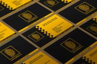 визитки и фирм стиль id taxi