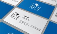 визитка и фирм стиль loft it