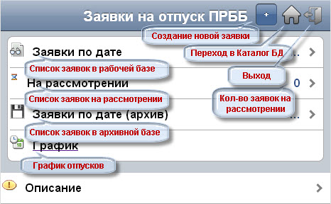 Web Заявки на отпуск
