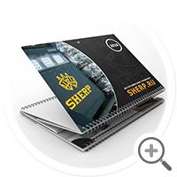 Настенный квартальный календарь «Трио стандарт» LLC SHERP