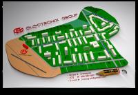 """• схема проезда ► для """"Электроникс Групп"""""""