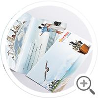 полиграфия для туристической компании Graf Reisen