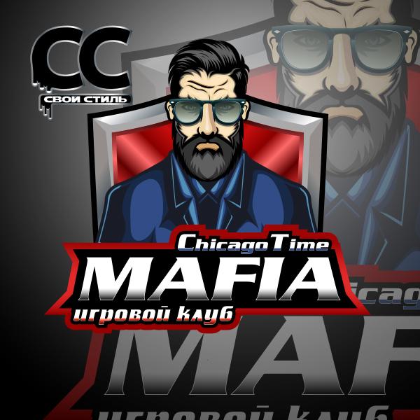 ЛОГОТИП - MAFIA Chicago Time - Игровой Клуб