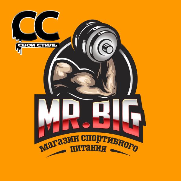 ЛОГОТИП - MR. BIG - Магазин Спортивного Питания