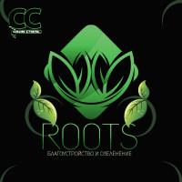 ЛОГОТИП - ROOTS - Благоустройство и Озеленение