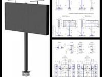Проектирование рекламных конструкций – билборд 3х6
