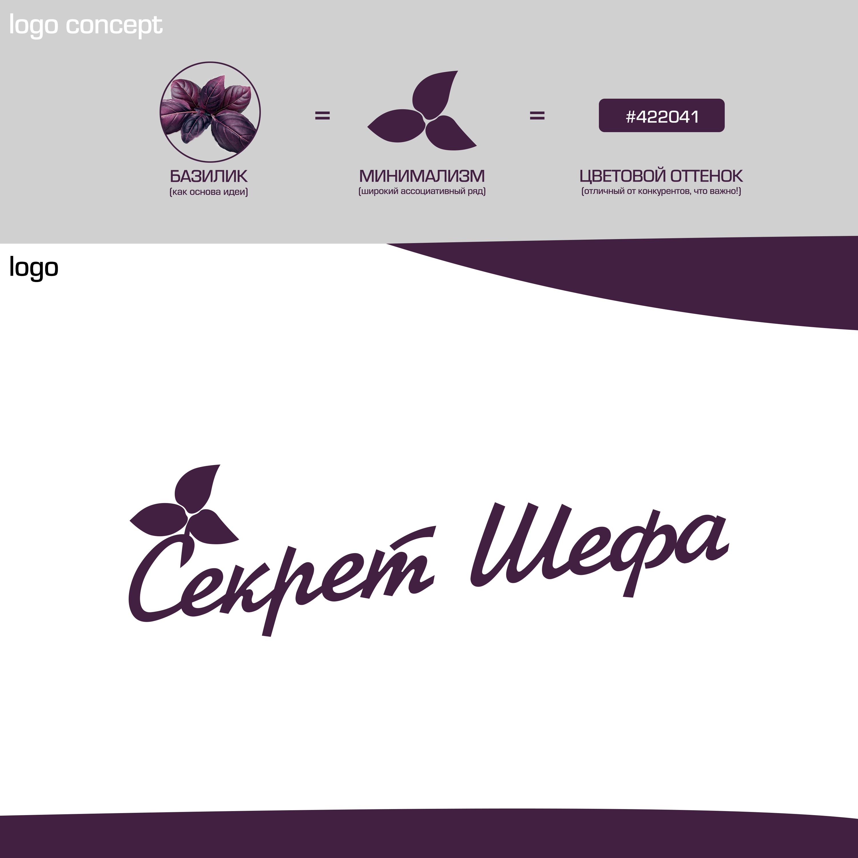 Логотип для марки специй и приправ Секрет Шефа фото f_1885f4685464bcb6.jpg