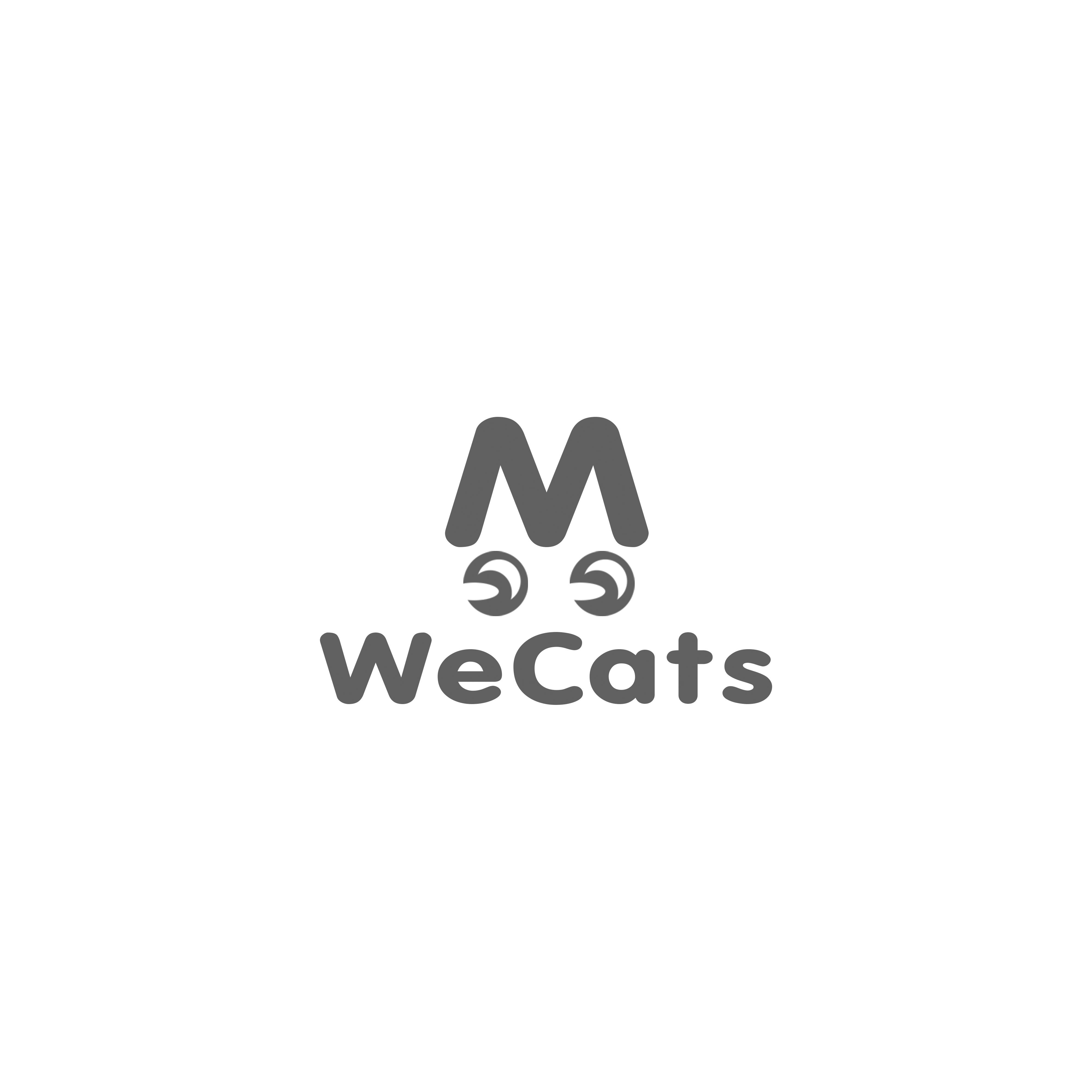 Создание логотипа WeCats фото f_4375f187487aa3c4.jpg