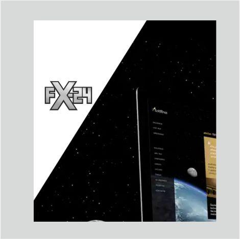Разработка логотипа компании FX-24 фото f_92454522ea6b3445.jpg