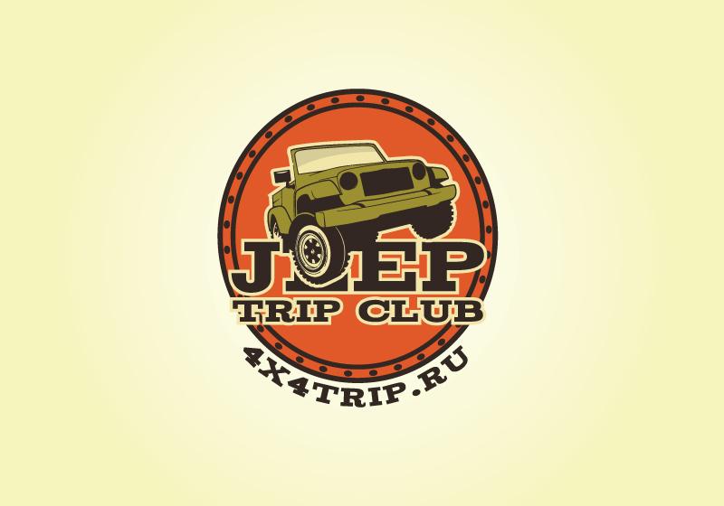 Создать или переработать логотип для Jeep Trip Club фото f_058542f01da064ab.jpg