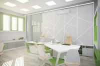 офис в футуристичном стиле