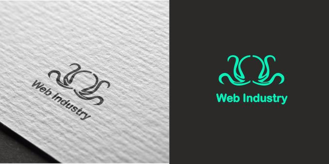 Логотип для сайта Web industry