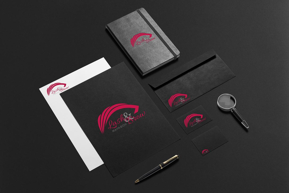 """Создание логотипа мероприятия """"Марафон Lash&Brow"""" фото f_05058f74122ac199.png"""