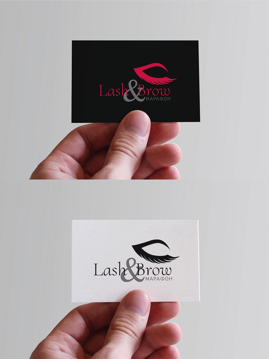 """Создание логотипа мероприятия """"Марафон Lash&Brow"""" фото f_15858f740d22e41e.png"""