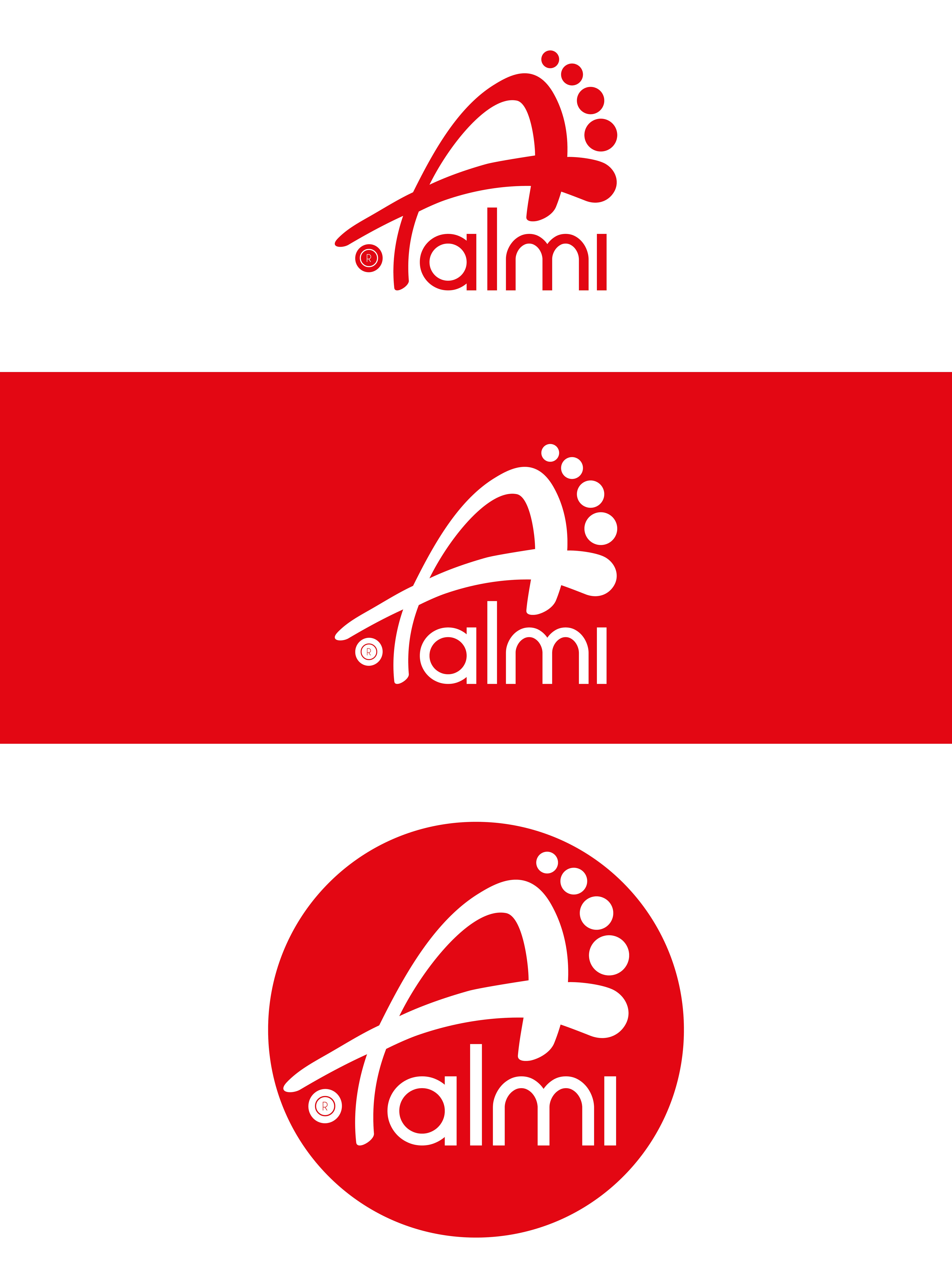 Дизайн логотипа обувной марки Алми фото f_29659faea3e3ebeb.png