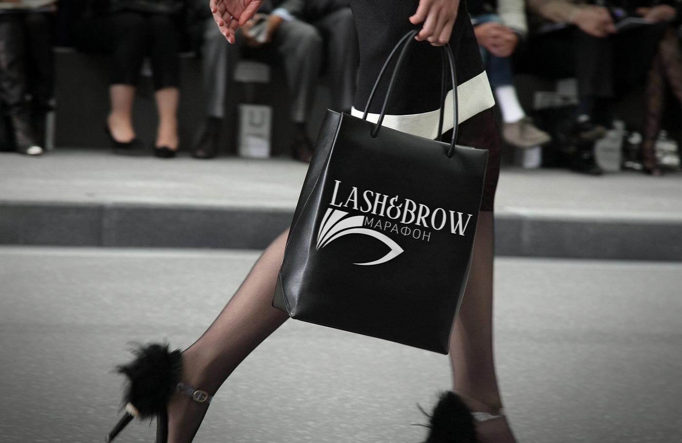 """Создание логотипа мероприятия """"Марафон Lash&Brow"""" фото f_47758f74102684c6.png"""