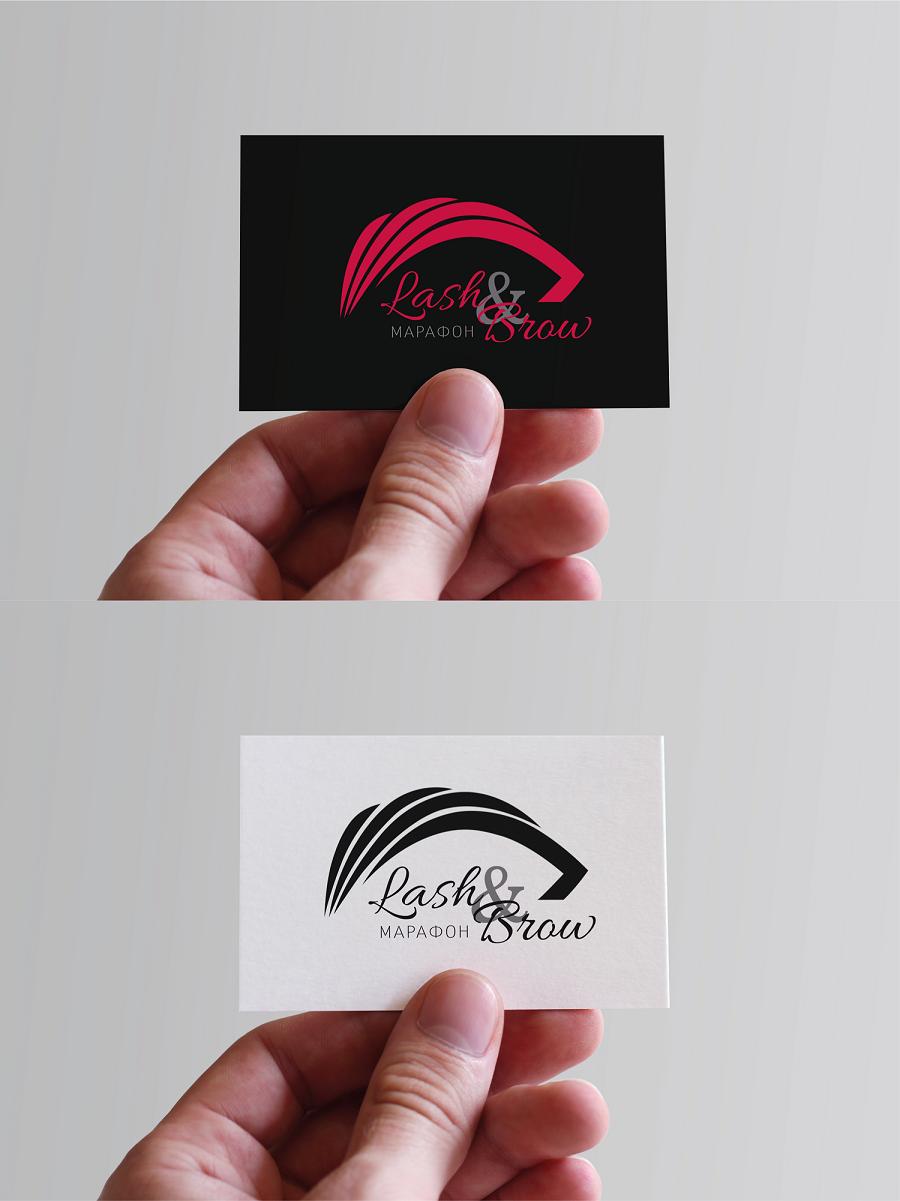 """Создание логотипа мероприятия """"Марафон Lash&Brow"""" фото f_93358f740d6a2be2.png"""