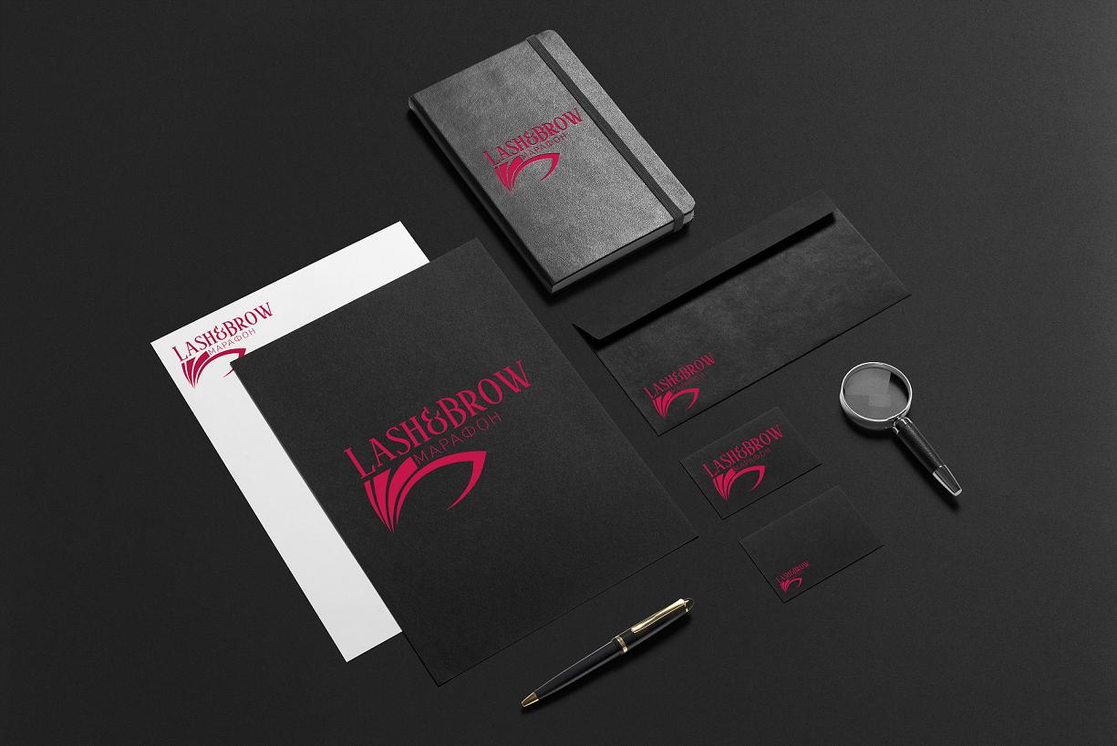 """Создание логотипа мероприятия """"Марафон Lash&Brow"""" фото f_98558f741356f66a.png"""