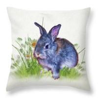 подушка - кролик