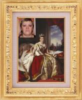 фотомонтаж - королева Виктория