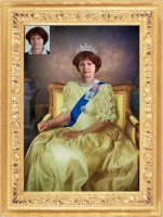 фотомонтаж - Queen Elizabeth II