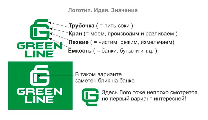 """Разработка Логотипа и фирменного стиля ООО """"Грин лайн"""" фото f_0545db748be52601.png"""