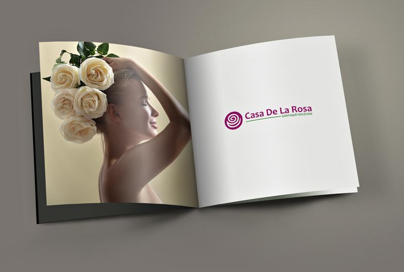 Логотип + Фирменный знак для элитного поселка Casa De La Rosa фото f_1605cd2be53aca79.jpg