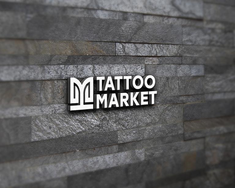 Редизайн логотипа магазина тату оборудования TattooMarket.ru фото f_1695c38adbfefbb0.jpg