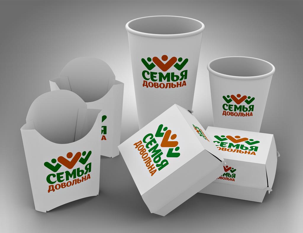 """Разработайте логотип для торговой марки """"Семья довольна"""" фото f_2945ba94ca34c06a.jpg"""